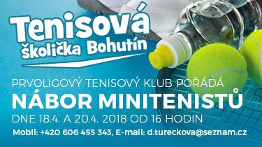 Nábor malých tenistů Bohutín 04 2018