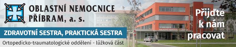 ZDRAVOTNÍ SESTRA, PRAKTICKÁ SESTRA Ortopedicko-traumatologické oddělení - lůžková část