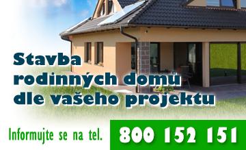 Stavba rodinných domů dle vašeho projektu