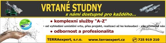 Reklama TERRAexpert s.r.o - vrtané studny, projekty, posudky, geologické a vrtné práce