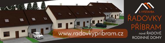 Nové Řadovky Příbram - 3. etapa