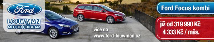 Ford Focus kombi již od 319 990 Kč  4 333 Kč / měs.