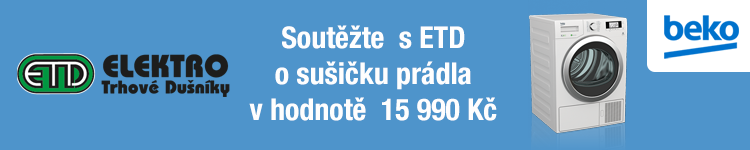 Soutěžte s ETD o sušičku prádla BEKO v hodnotě 15 990 Kč