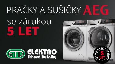 ETD - AEG pračky a sušičky