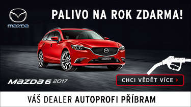 Mazda 3 - palivo na rok zdarma