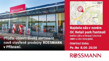 Rossmann nová prodejna ve Fastmall u Lidlu