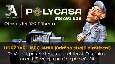 ÚDRŽBÁŘ - MECHANIK (údržba strojů a zařízení)
