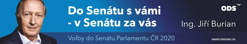 Volby do senátu Jiří Burian 09/2020