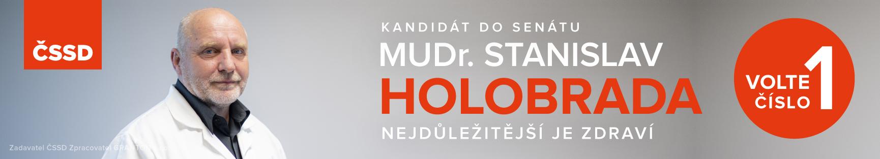 Reklama Senát - S. Holobrada