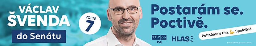 Václav Švenda - kandidát na senátora