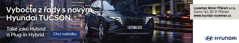 Vybočte s řady s novým Hyundai Tucson.