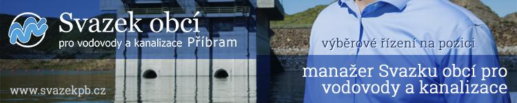 Výběrové řízení - manažer Svazku obcí pro vodovody a kanalizace